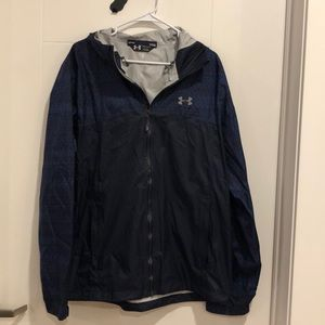 Under Armour Navy Rain Jacket/Windbreaker